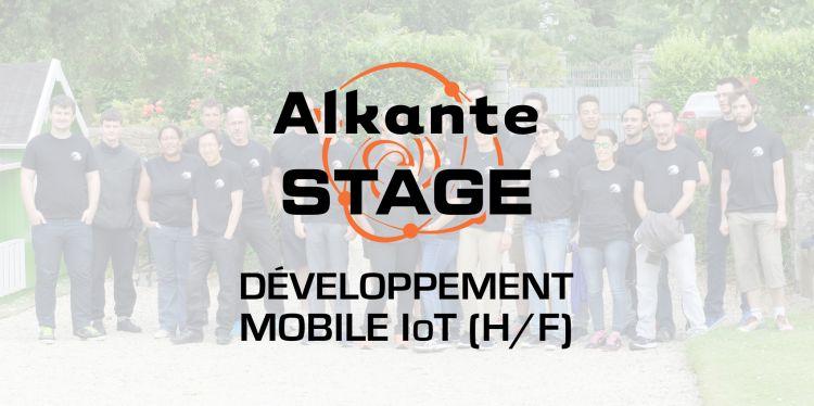 Offre de stage : développement mobile IoT (H/F)
